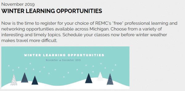 REMC Winter offerings