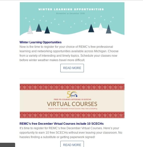 REMC Connect winter newsletter