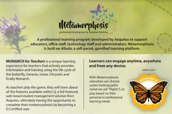 Monarch training program