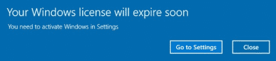 Windows licensing issue