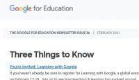 Google newsletter 36