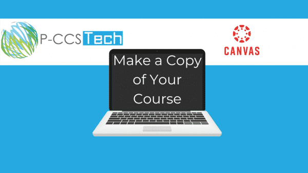 Make a copy of your Canvas course