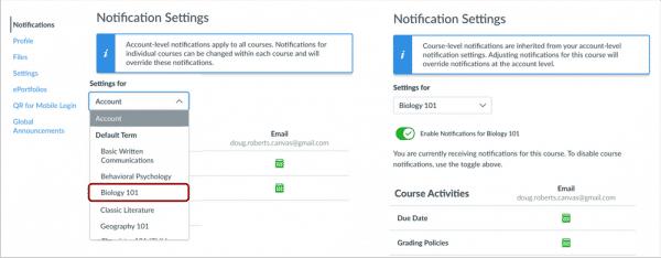 notification settings image